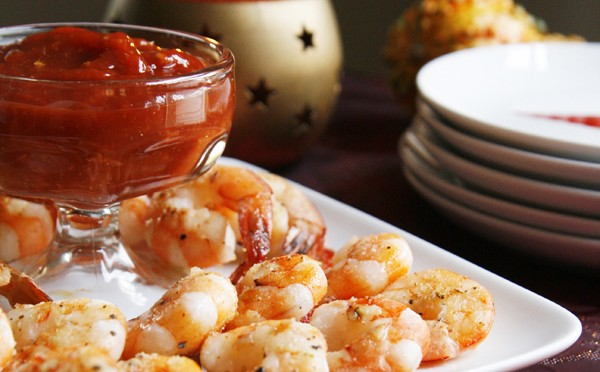 Roasted Shrimp cocktail share