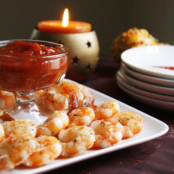Roasted Shrimp cocktail share