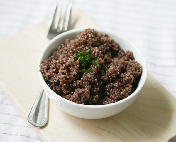 Find the Drunken Quinoa recipe on Betty Crocker.